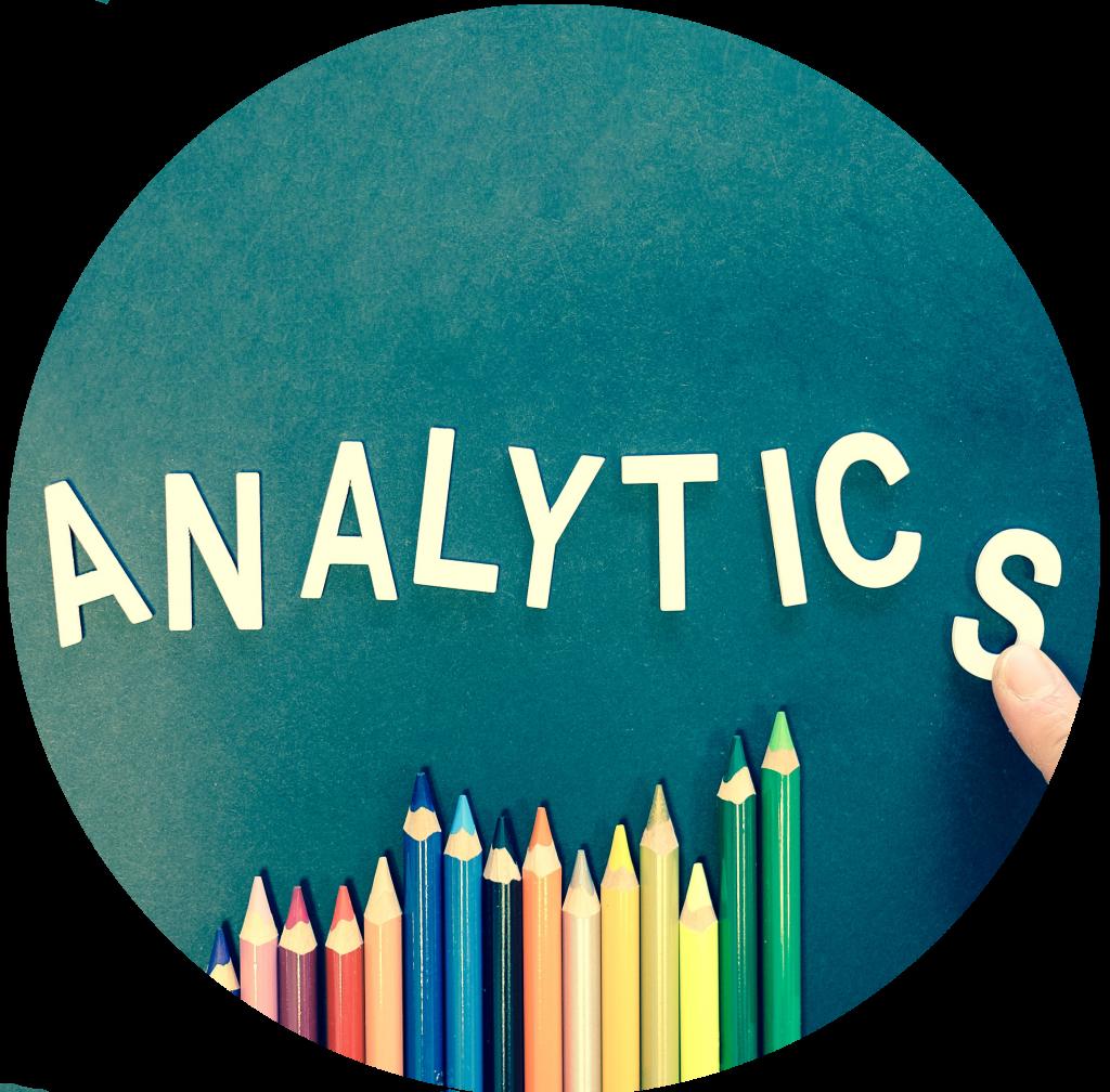 eia de gráfico. O gráfico é representativo do trabalho feito pelo Google Analytics.